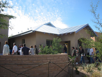 Tuscon Galvanized Roof